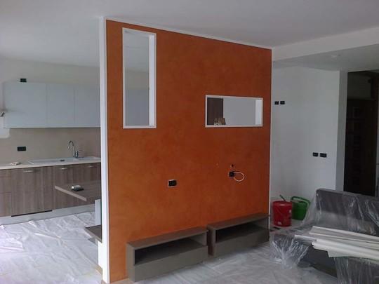 Decorazione parete cartongesso | COLOUR rEVOLUTION